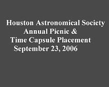 Houston Astro Picnic 2006